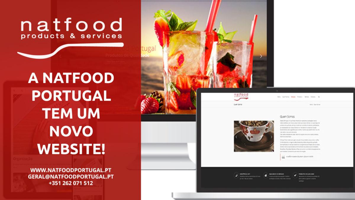 A Natfood Portugal tem um novo website!