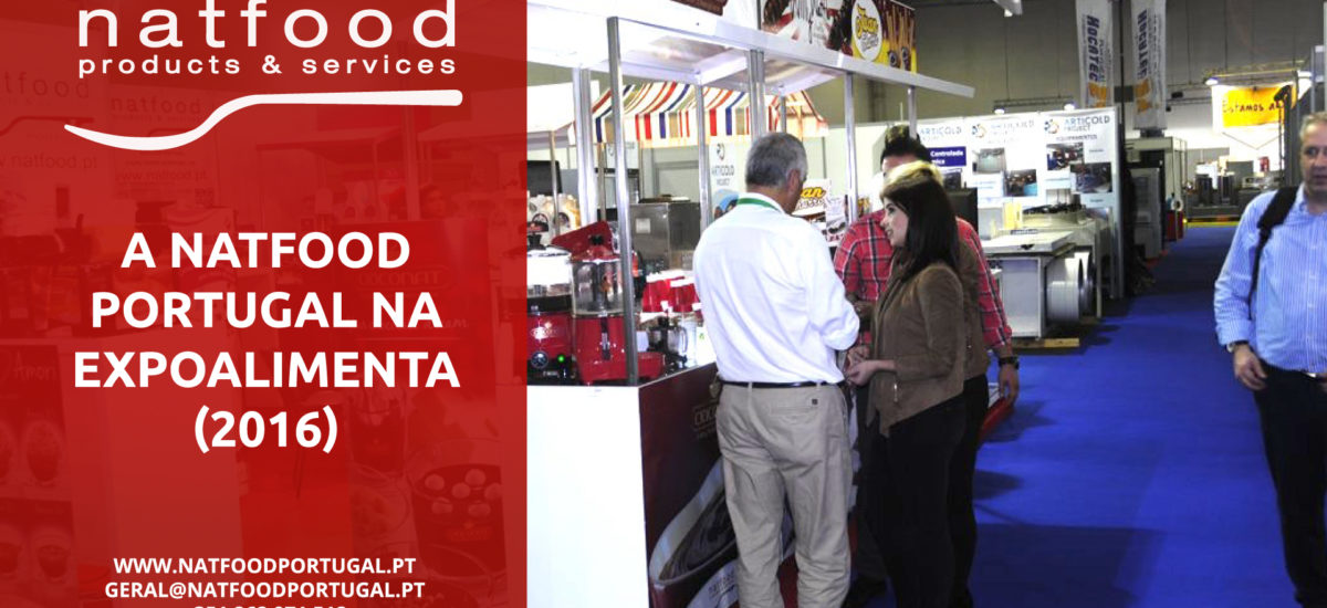 A Natfood Portugal na EXPOALIMENTA (2016)