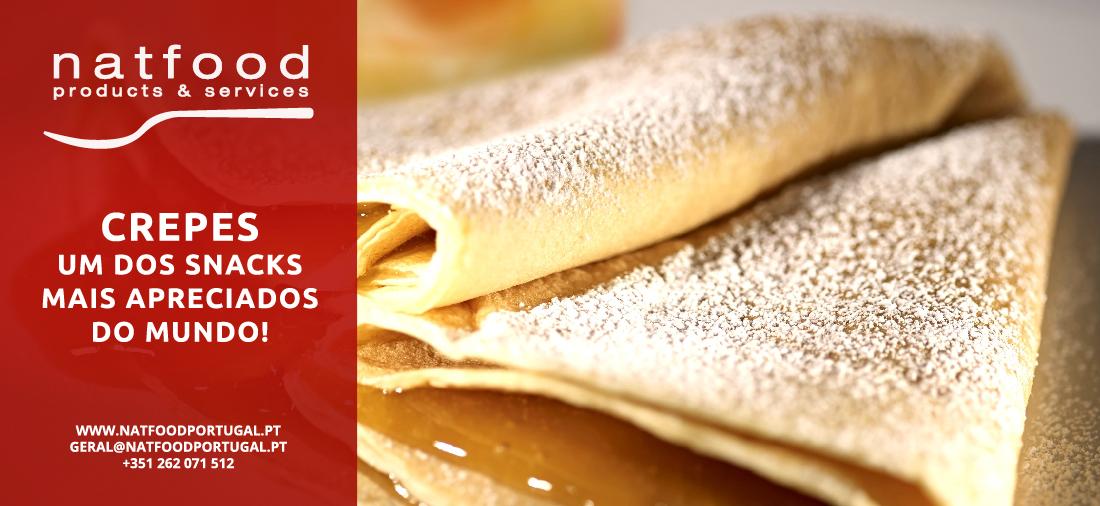 Sabe que o crepe é um dos snacks mais apreciados em todo o mundo?!