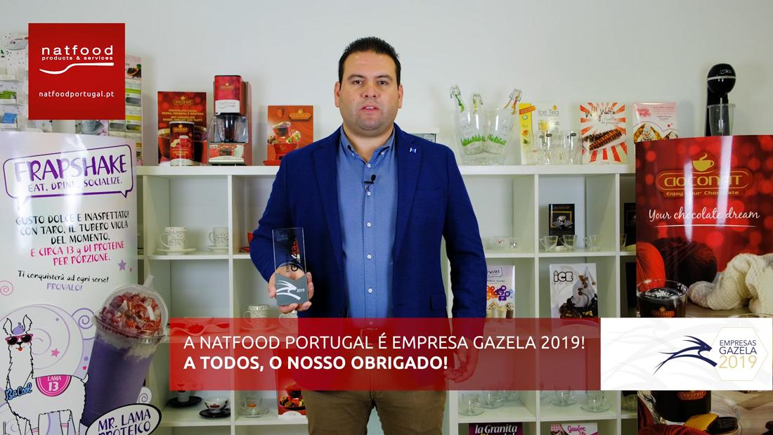 A Natfood Portugal é uma empresa Gazela!