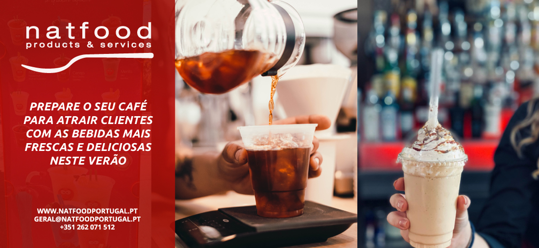 Prepare o seu Café para atrair clientes com as bebidas mais frescas e deliciosas neste verão
